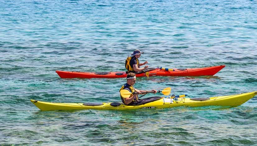 kanot och kajak paddling